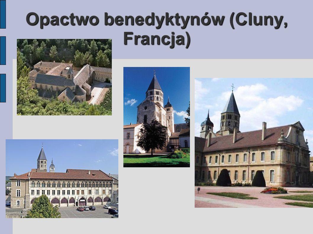 Opactwo benedyktynów (Cluny, Francja)