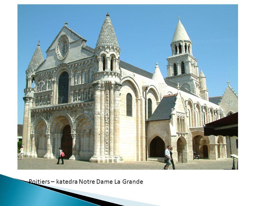 Poitiers – katedra Notre Dame La Grande