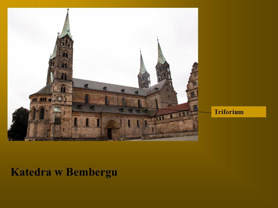 Triforium Katedra w Bembergu