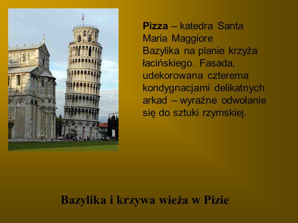 Bazylika i krzywa wieża w Pizie