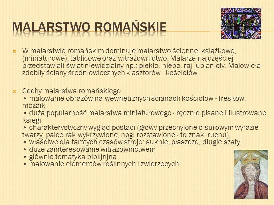 Malarstwo romańskie