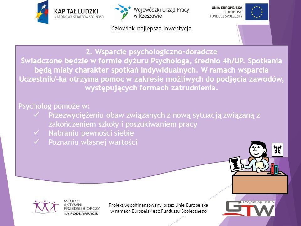 2. Wsparcie psychologiczno-doradcze