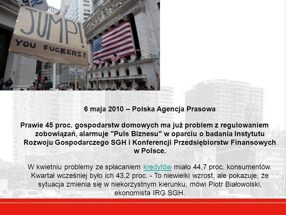 6 maja 2010 – Polska Agencja Prasowa