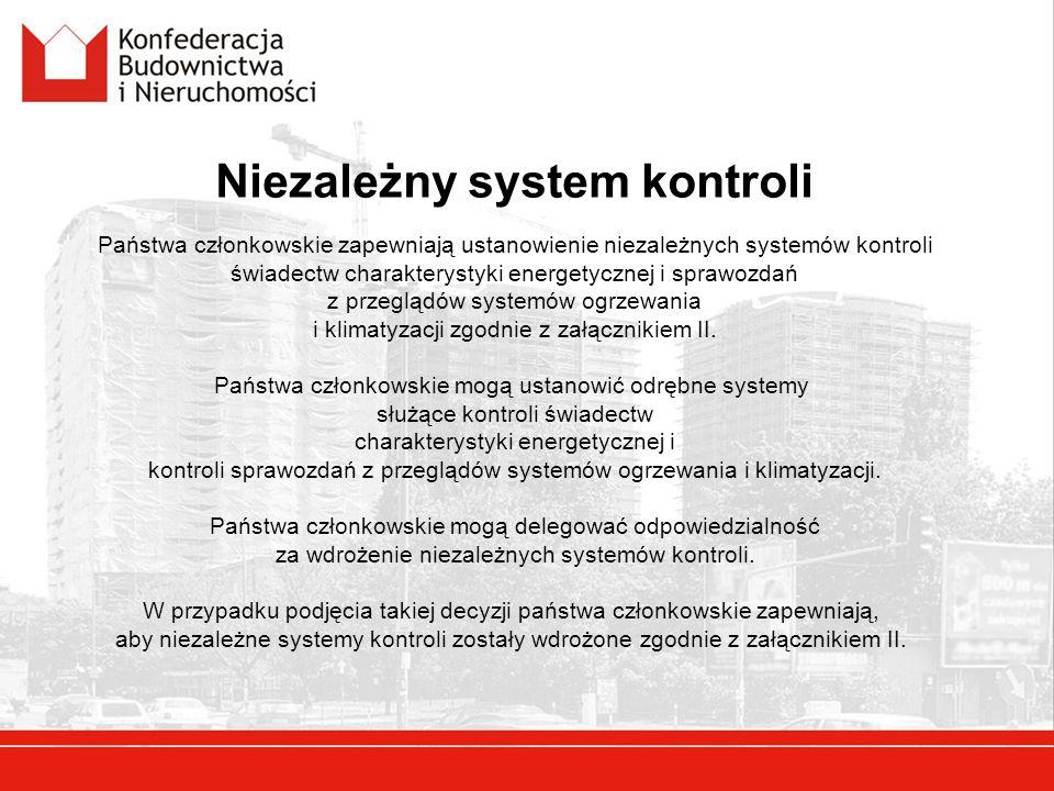 Niezależny system kontroli