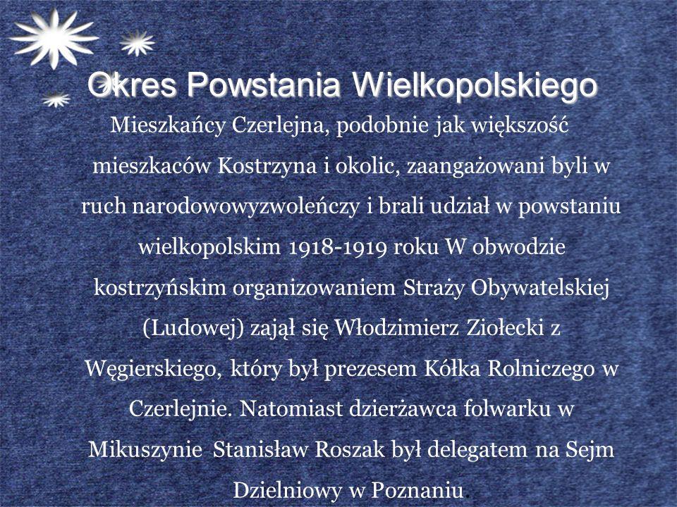 Okres Powstania Wielkopolskiego