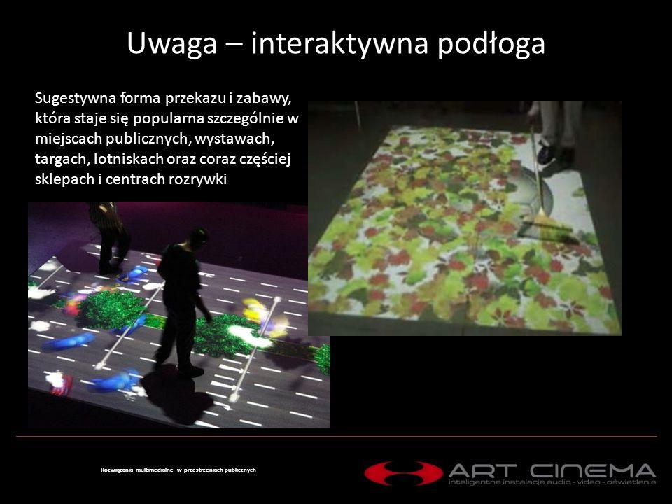 Uwaga – interaktywna podłoga