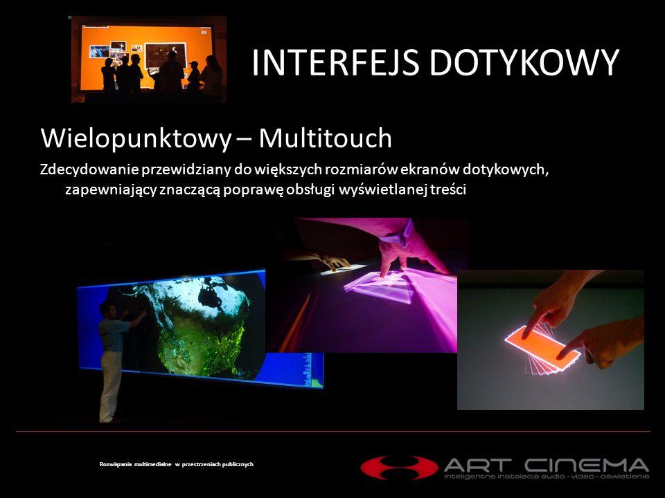 Rozwiązania multimedialne w przestrzeniach publicznych