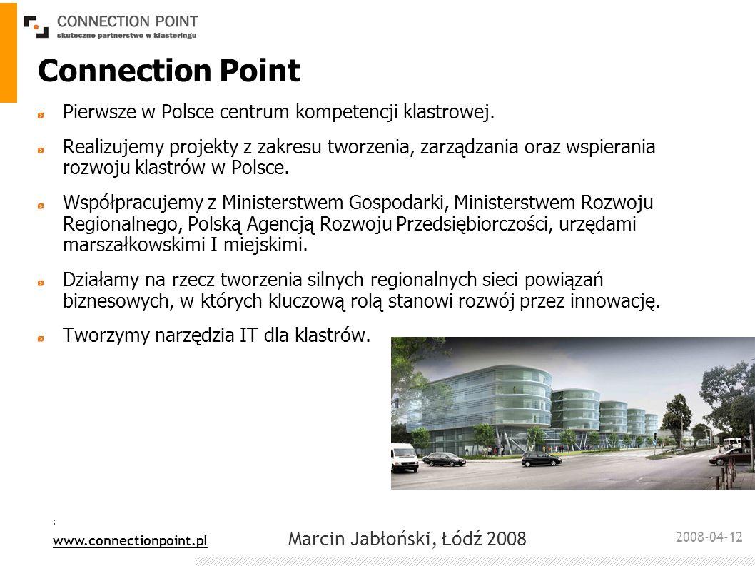 Connection Point Pierwsze w Polsce centrum kompetencji klastrowej.