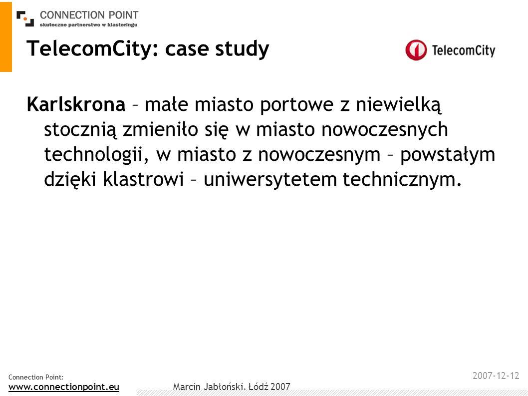 TelecomCity: case study