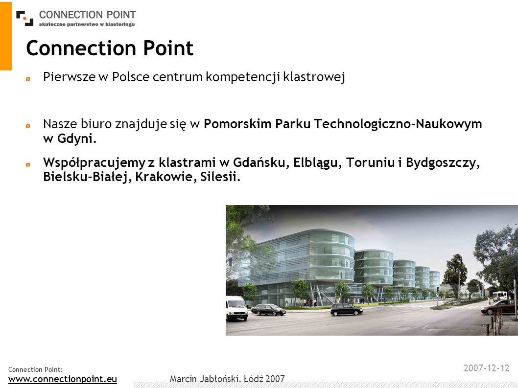 Connection Point Pierwsze w Polsce centrum kompetencji klastrowej