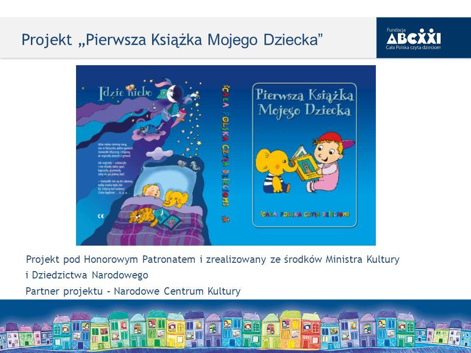 """Projekt """"Pierwsza Książka Mojego Dziecka"""