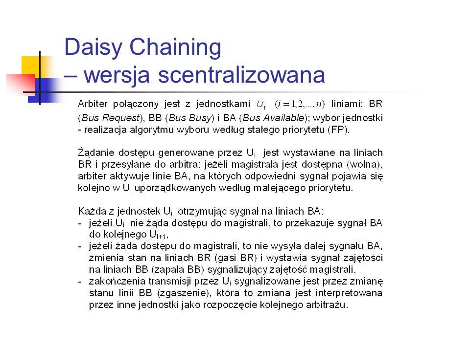 Daisy Chaining – wersja scentralizowana