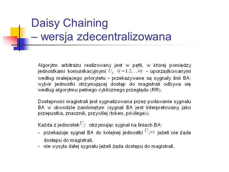 Daisy Chaining – wersja zdecentralizowana