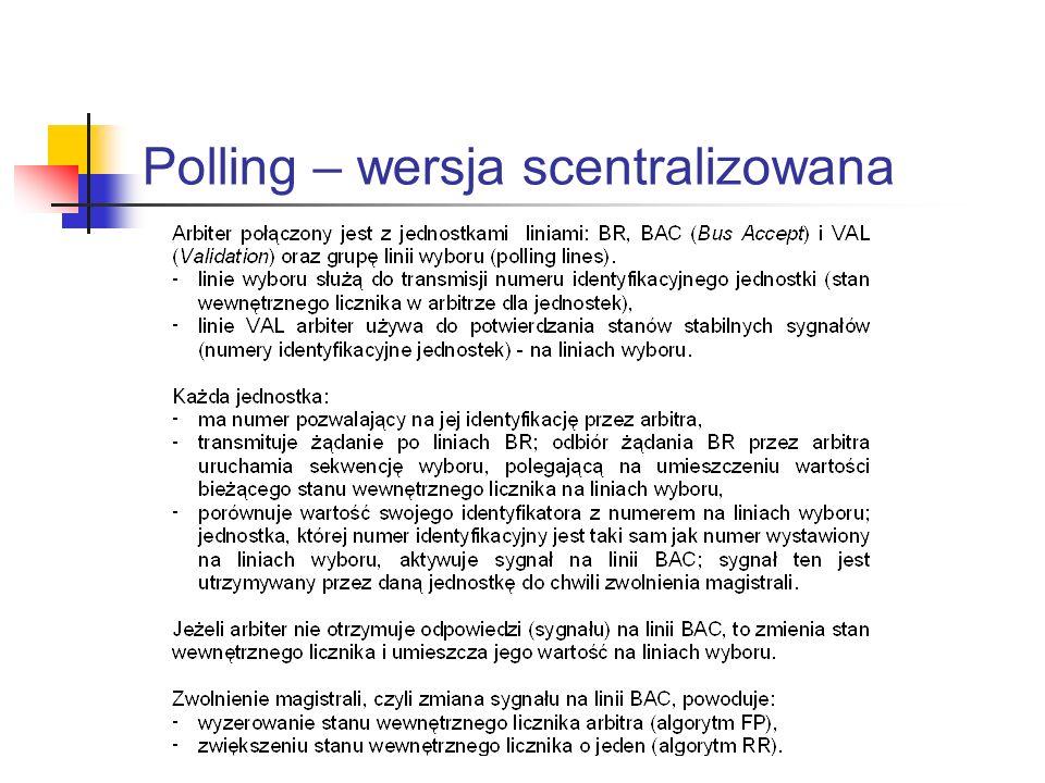 Polling – wersja scentralizowana