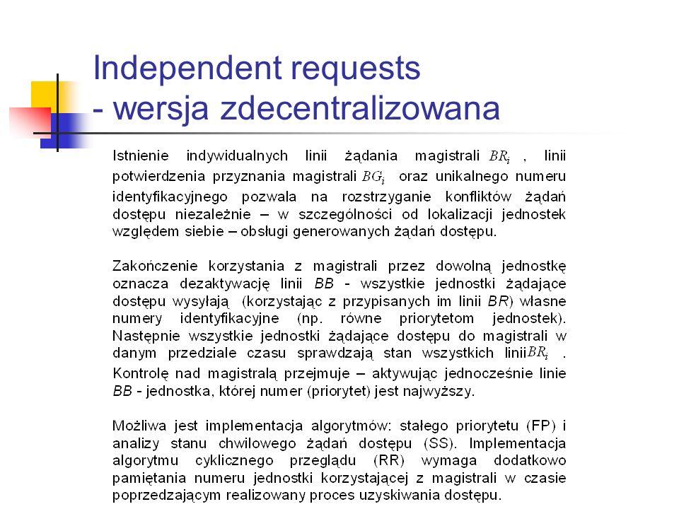 Independent requests - wersja zdecentralizowana