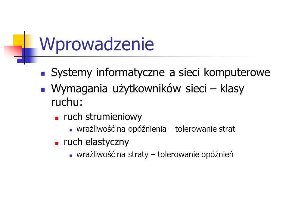Wprowadzenie Systemy informatyczne a sieci komputerowe