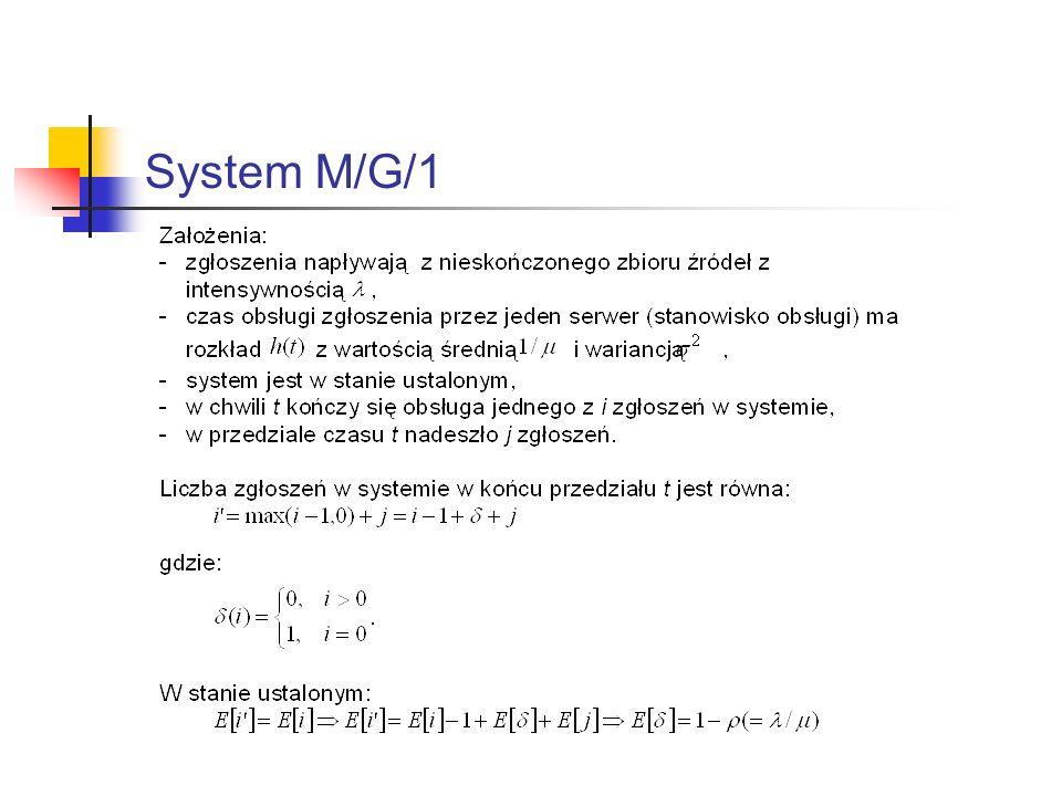 System M/G/1