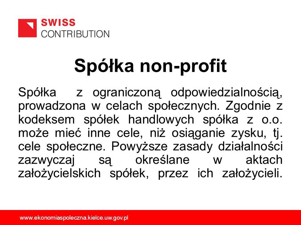Spółka non-profit