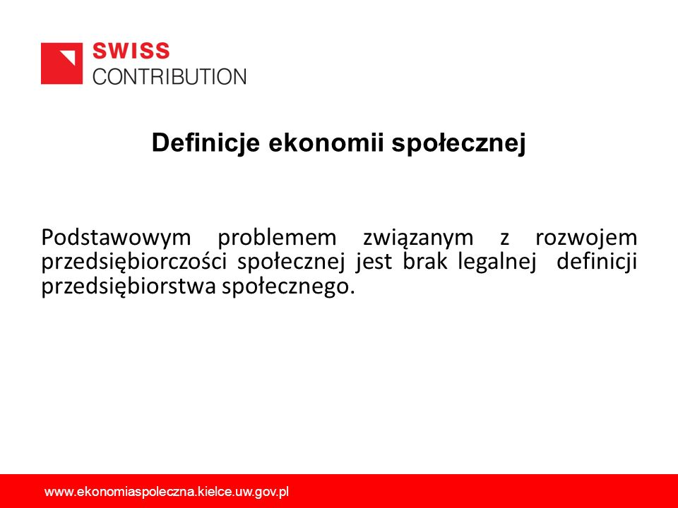 Definicje ekonomii społecznej