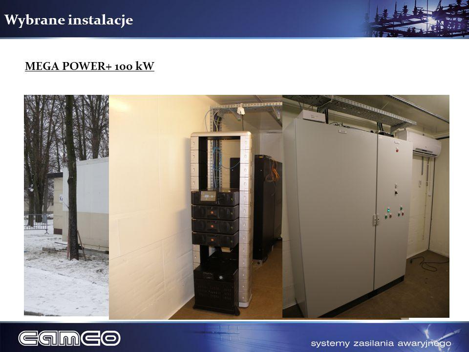 Wybrane instalacje MEGA POWER+ 100 kW