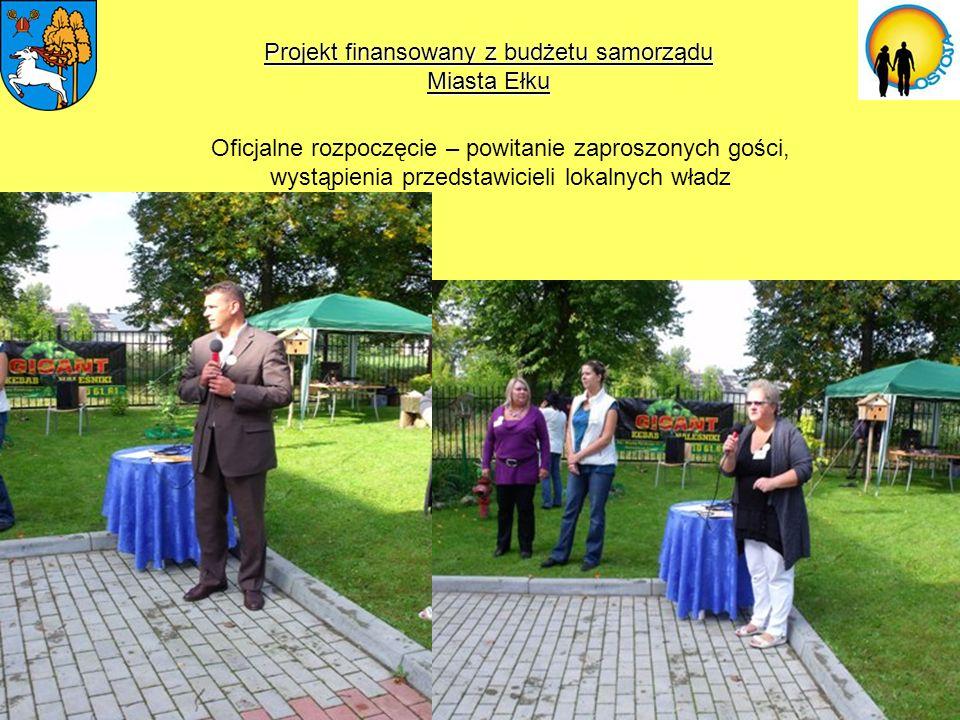 Projekt finansowany z budżetu samorządu Miasta Ełku