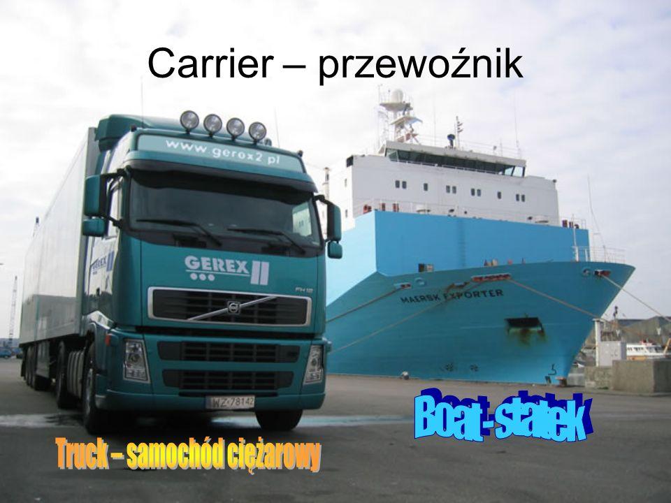 Truck – samochód ciężarowy