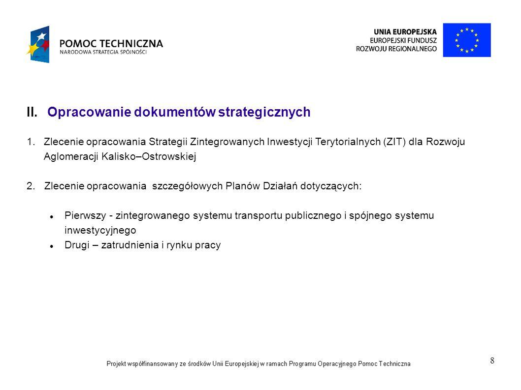 Opracowanie dokumentów strategicznych
