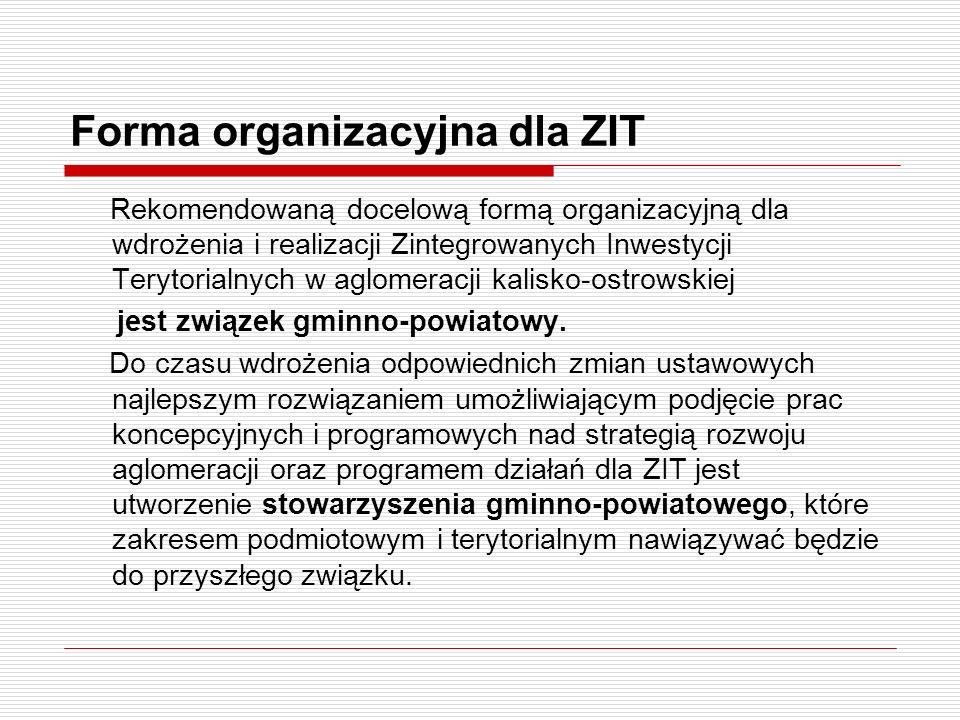 Forma organizacyjna dla ZIT
