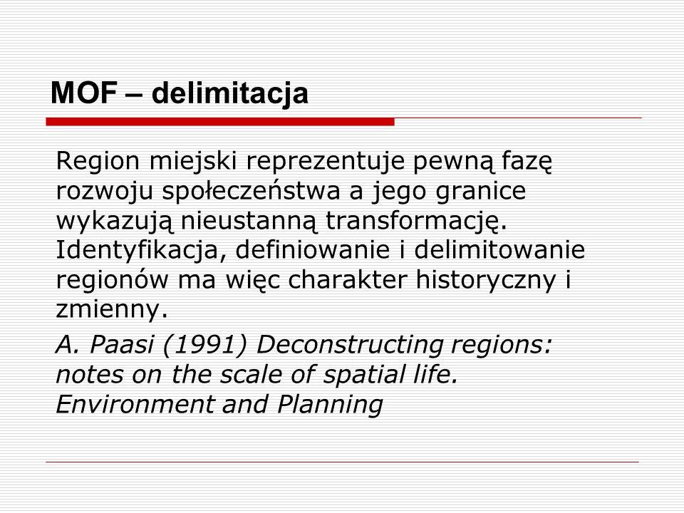 MOF – delimitacja