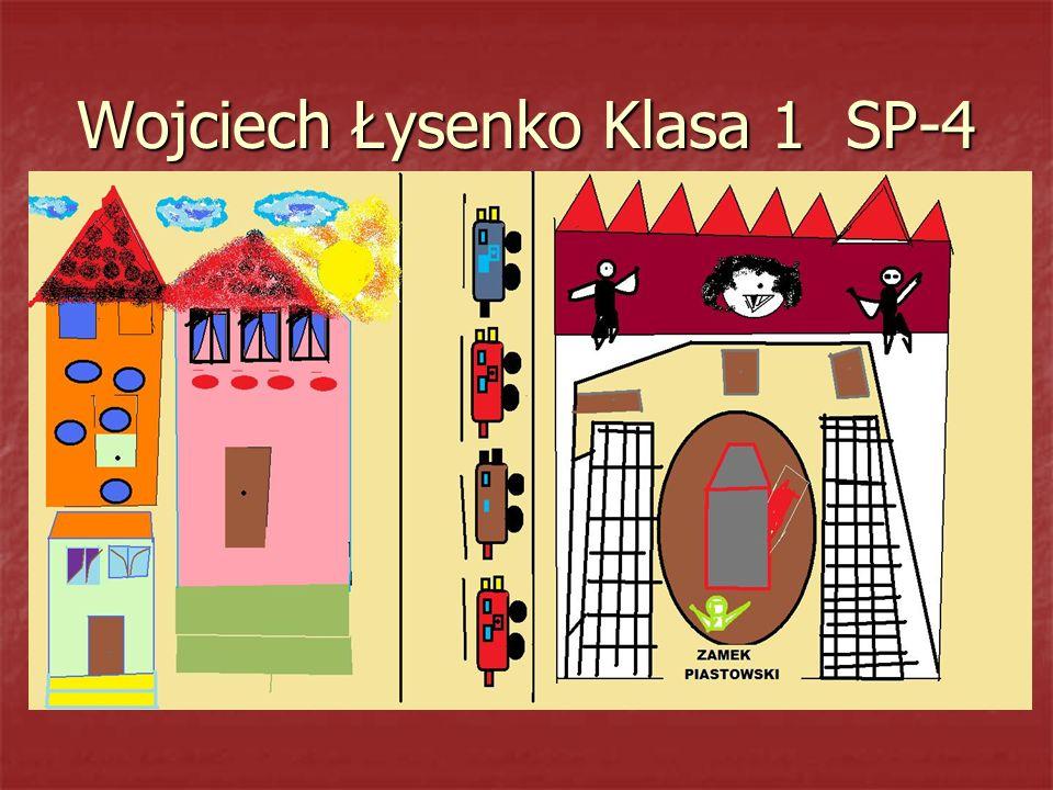 Wojciech Łysenko Klasa 1 SP-4