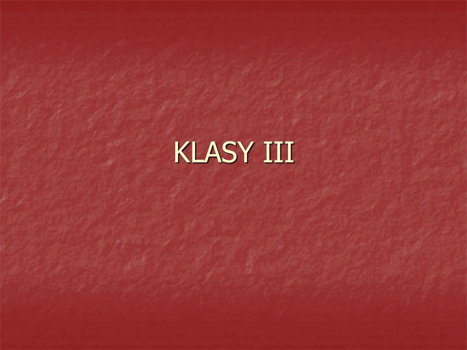 KLASY III