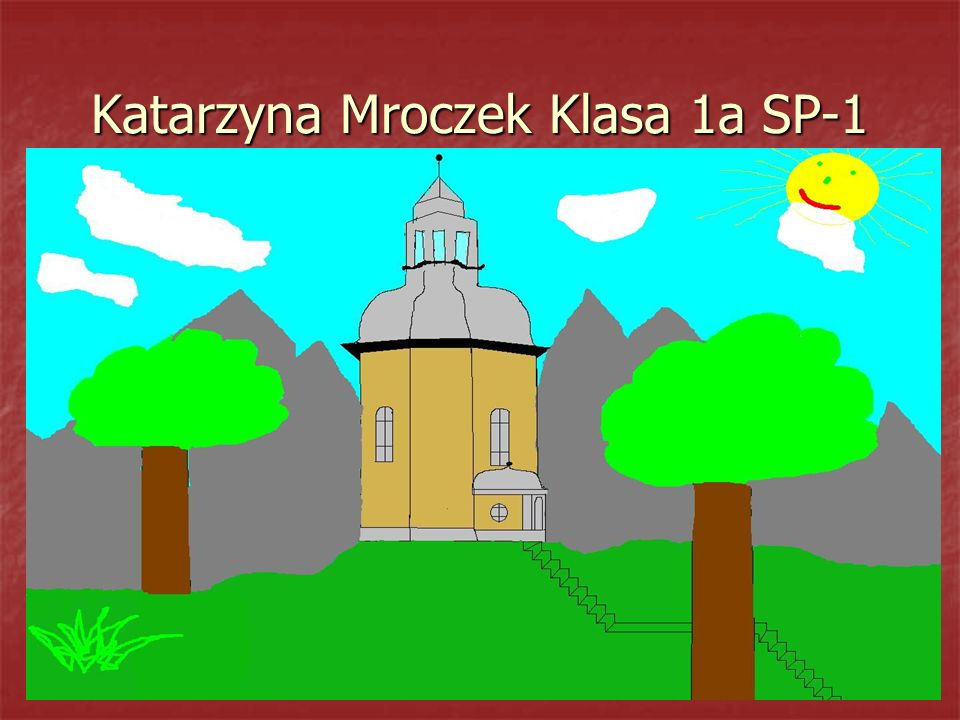 Katarzyna Mroczek Klasa 1a SP-1