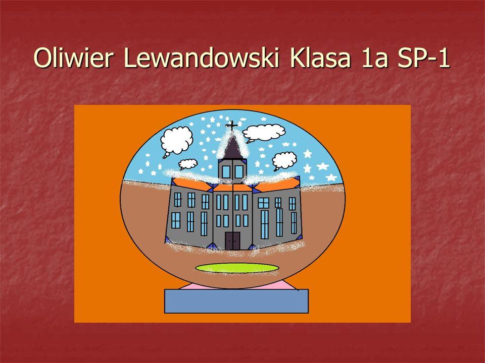 Oliwier Lewandowski Klasa 1a SP-1
