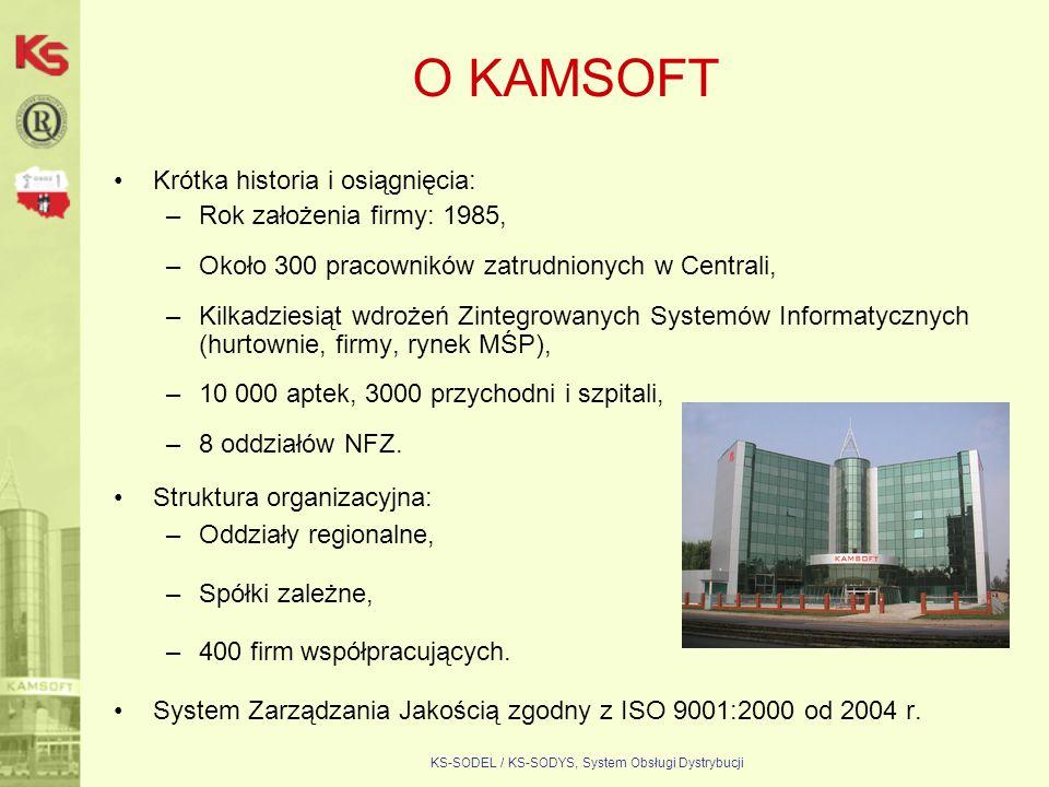 KS-SODEL / KS-SODYS, System Obsługi Dystrybucji