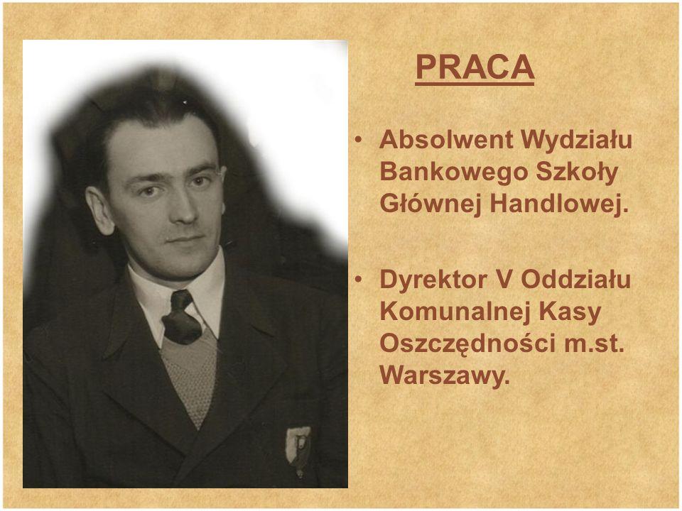 PRACA Absolwent Wydziału Bankowego Szkoły Głównej Handlowej.