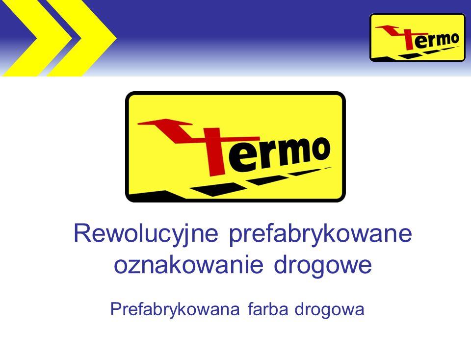 Rewolucyjne prefabrykowane oznakowanie drogowe