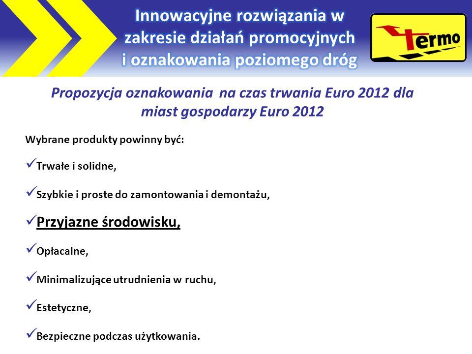 Propozycja oznakowania na czas trwania Euro 2012 dla