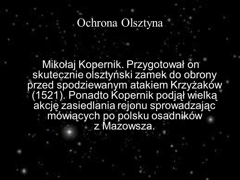 Ochrona Olsztyna
