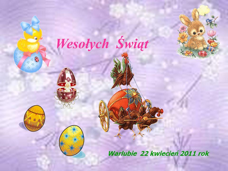 Wesołych Świąt Warlubie 22 kwiecień 2011 rok