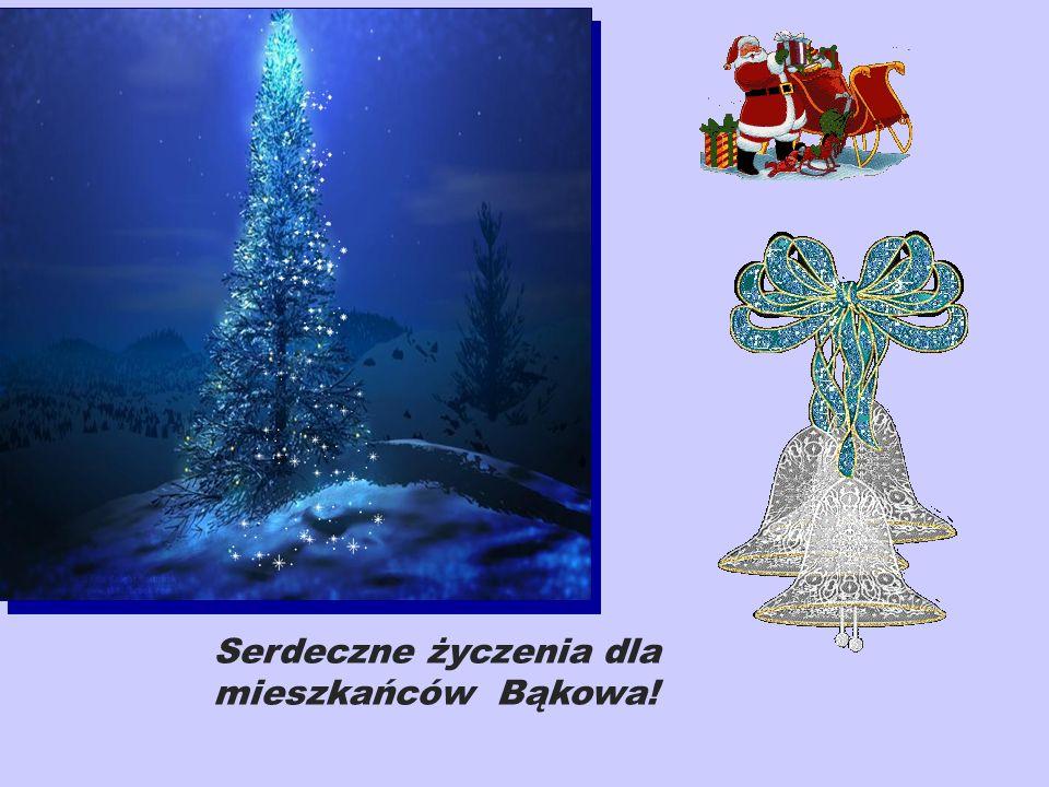 Serdeczne życzenia dla mieszkańców Bąkowa!