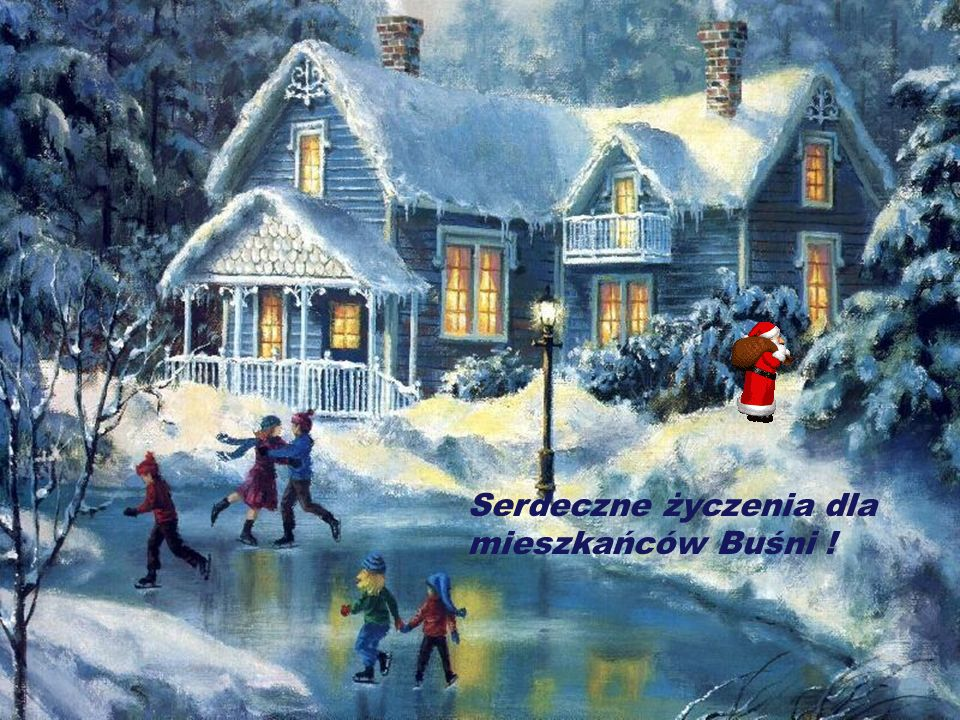 Serdeczne życzenia dla mieszkańców Buśni !
