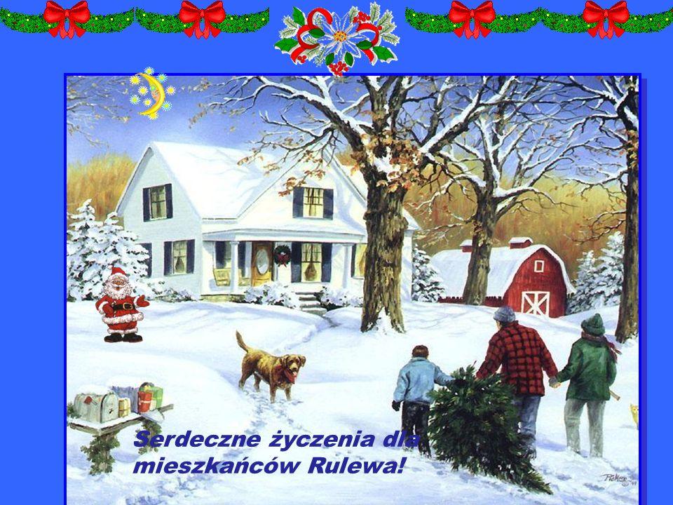 Serdeczne życzenia dla mieszkańców Rulewa!