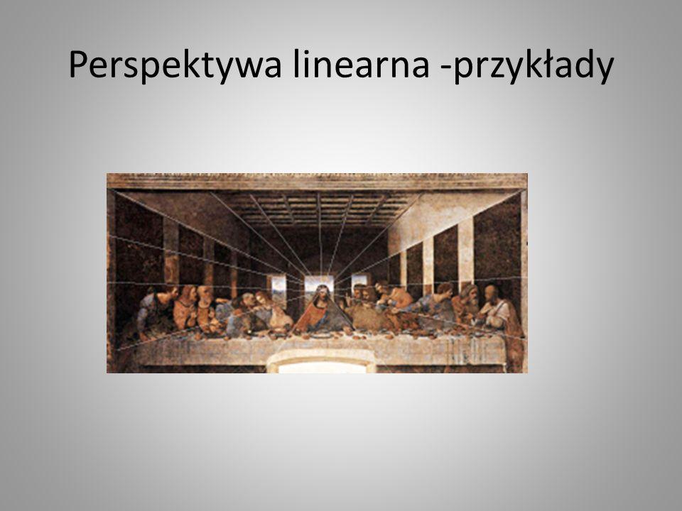 Perspektywa linearna -przykłady
