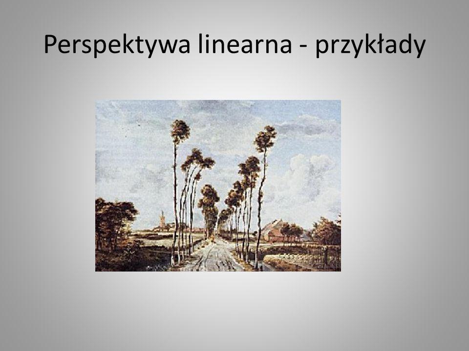 Perspektywa linearna - przykłady