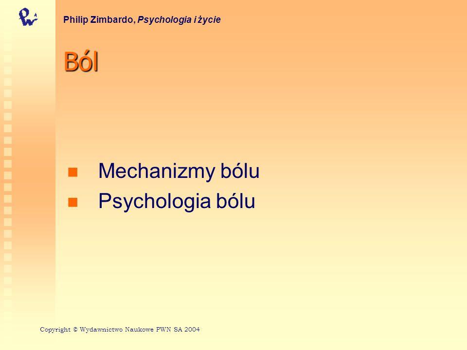 Ból Mechanizmy bólu Psychologia bólu