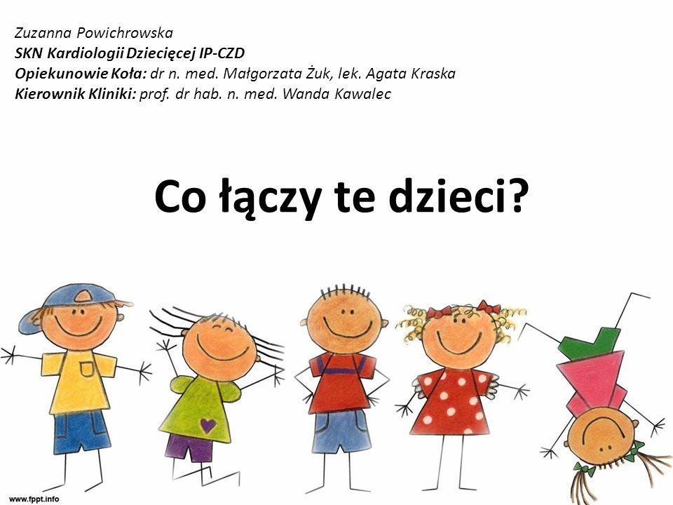 Co łączy te dzieci Zuzanna Powichrowska