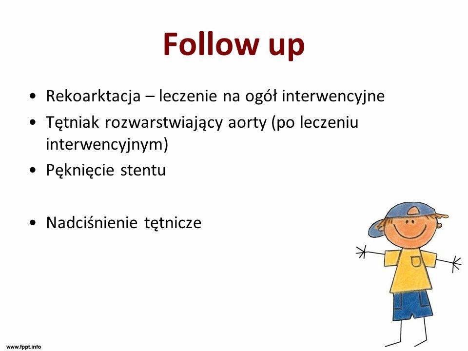 Follow up Rekoarktacja – leczenie na ogół interwencyjne