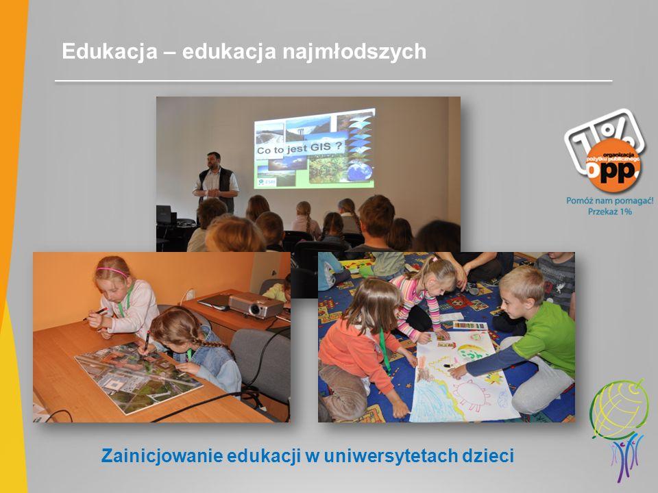 Zainicjowanie edukacji w uniwersytetach dzieci