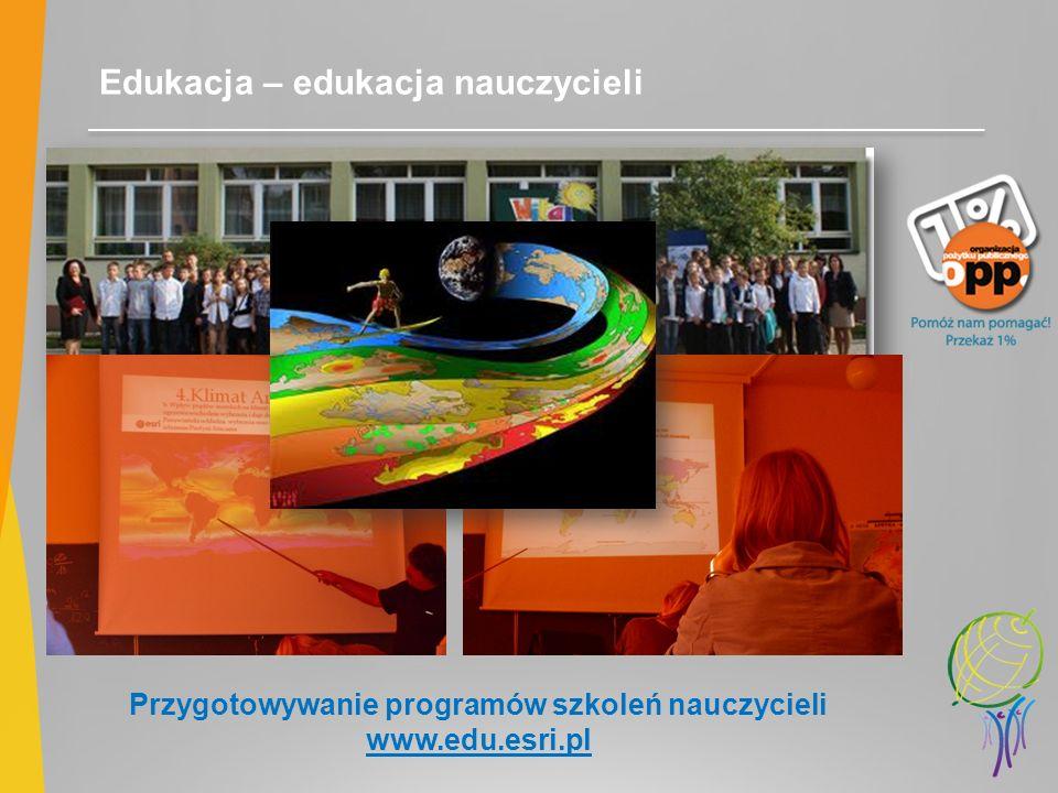 Przygotowywanie programów szkoleń nauczycieli