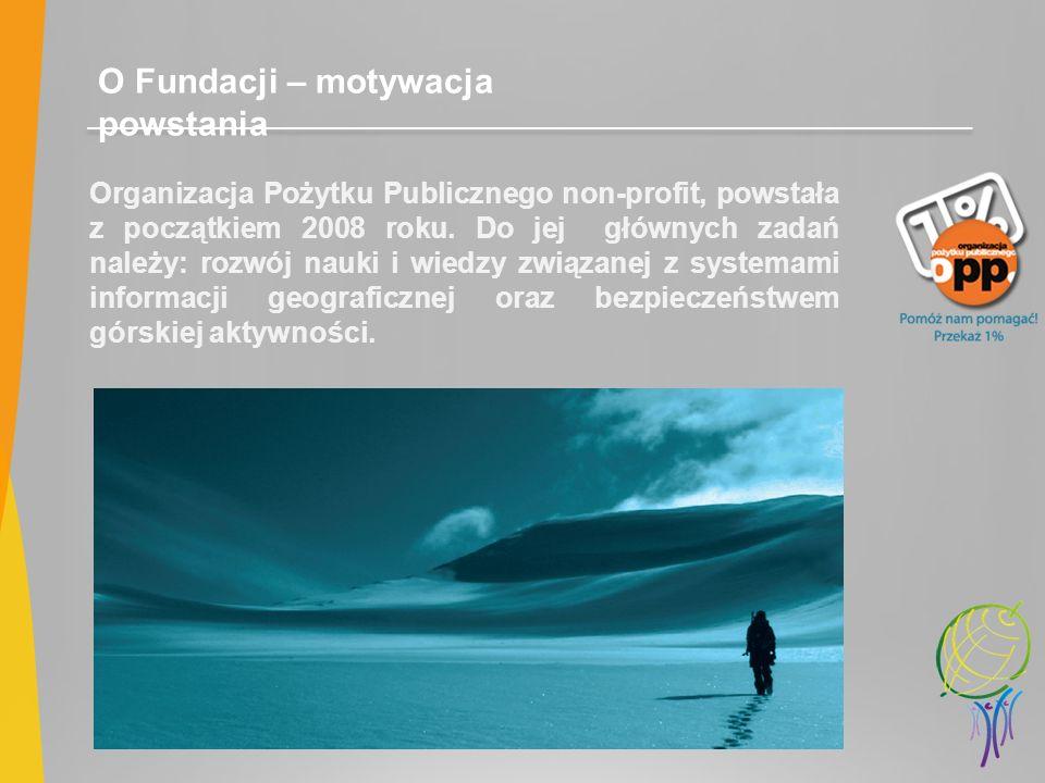 O Fundacji – motywacja powstania